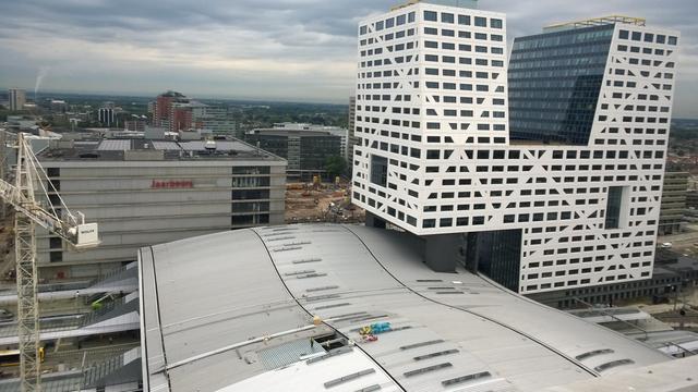 Ondanks dicht dak liggen er plassen op Utrecht Centraal