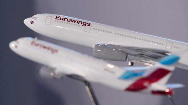 Staking dreigt onder personeel Eurowings en Germanwings