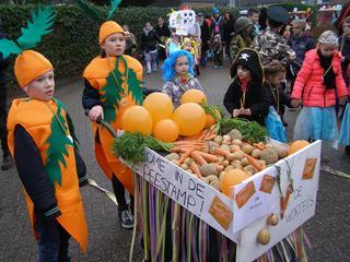 Carnavalsdoorbraak in Willemstad