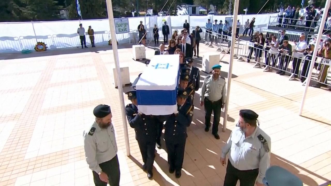 Veel (oud)-wereldleiders op begrafenis voormalig president Israël Peres