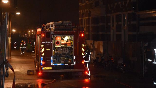 Gaslek ontstaan in de Hooftstraat
