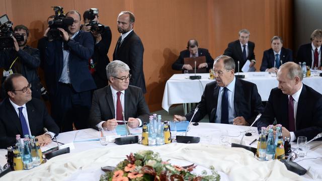 Opzet voor vredesakkoord gemaakt tijdens overleg Oekraïne in Berlijn