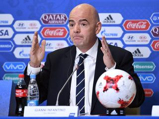 FIFA-voorzitter lovend over experiment op Confederations Cup