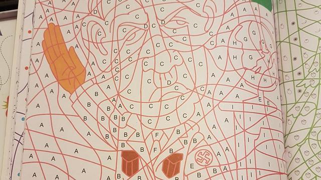 kruidvat verkocht per ongeluk kleurboek met kleurplaat