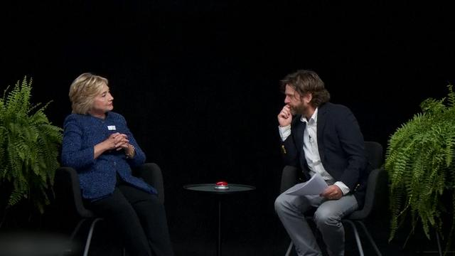 Hillary Clinton in 'Between two Ferns'