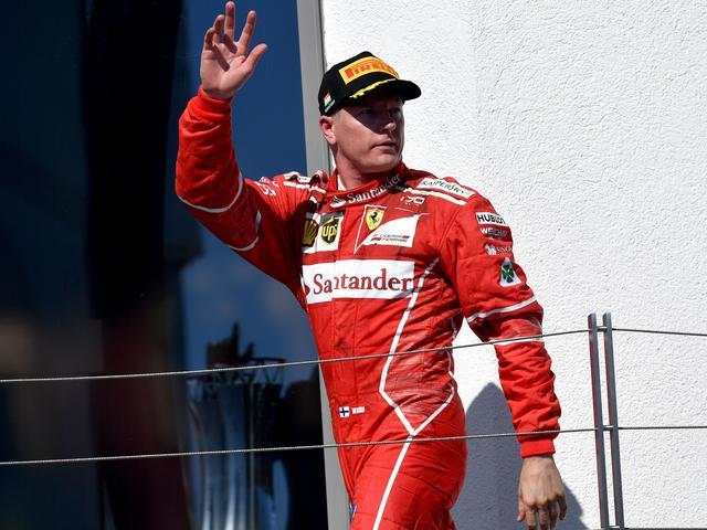 Raikkonen (37) verlengt contract bij Ferrari tot eind 2018