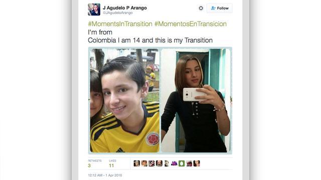 Trend: transgenders showen hun voor- en na-foto's