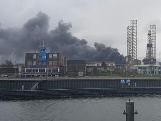 Bij brand vielen geen gewonden, brand inmiddels onder controle