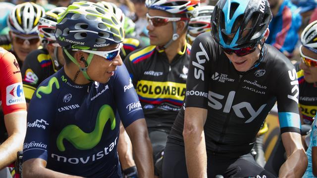 Froome, Quintana en Valverde starten in Vuelta