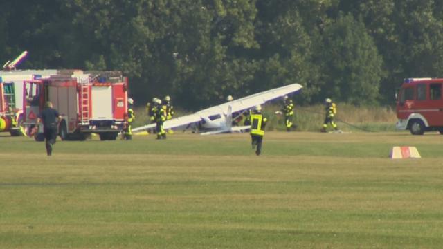Twee Nederlanders gewond bij noodlanding sportvliegtuigje Duitsland