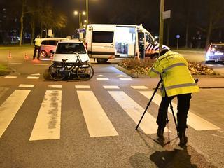Door het onderzoek van de politie was de weg lange tijd afgesloten