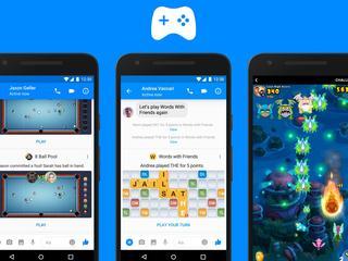 Instant Games biedt multiplayer-spellen in Messenger