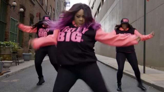 Danseressen met volle figuren keren zich tegen stigma