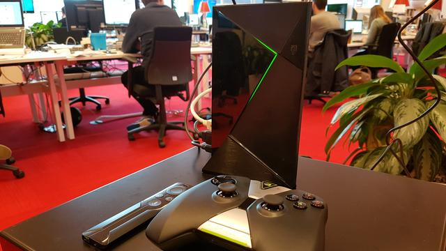 Review: Android-console Nvidia Shield valt tussen wal en schip