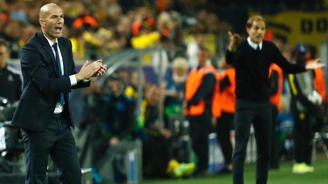 Zidane en Tuchel niet helemaal tevreden met gelijkspel