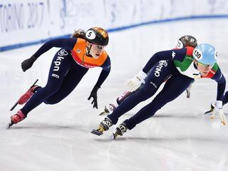Knegt gediskwalificeerd in kwartfinale 1000 meter