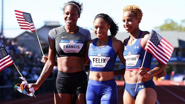Schippers' concurrente Felix toont goede vorm op weg naar Rio