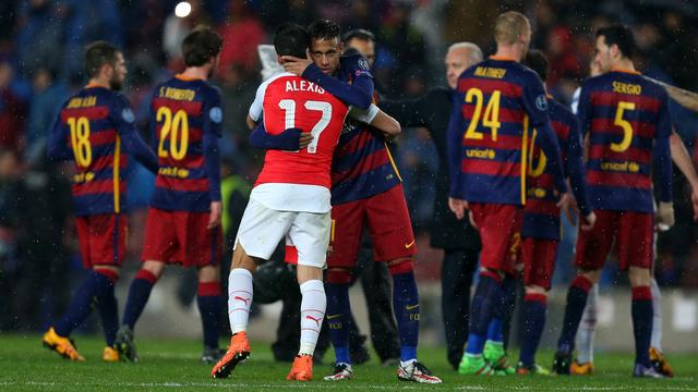 Barcelona door toptrio ook in Camp Nou simpel langs Arsenal