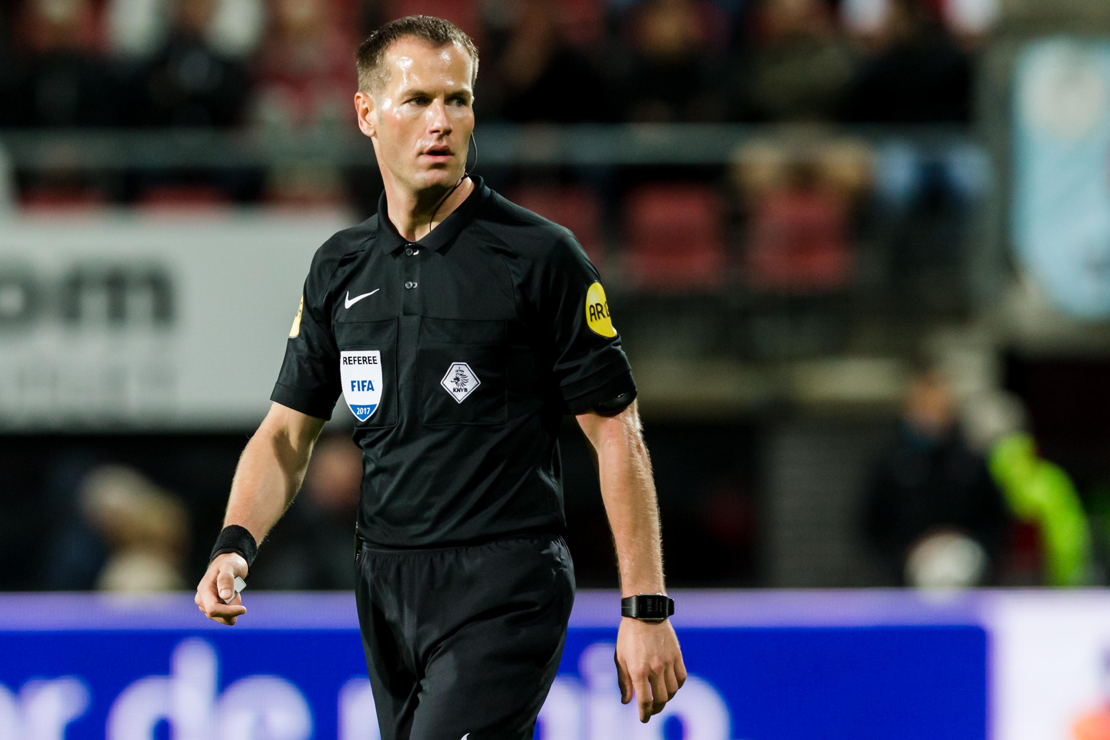 Arbiter Makkelie naar Kroatië voor duel in play-offs Champions League