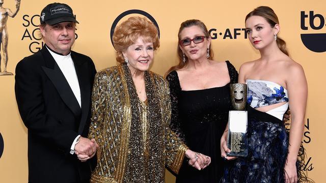Billie Lourd herdenkt overleden moeder Carrie Fisher