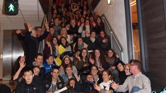 Uitwisseling met Franse scholieren op herkansing
