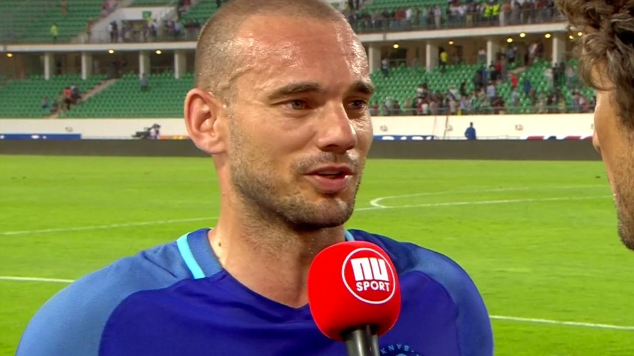 Sneijder: 'We kunnen trots op onszelf zijn'