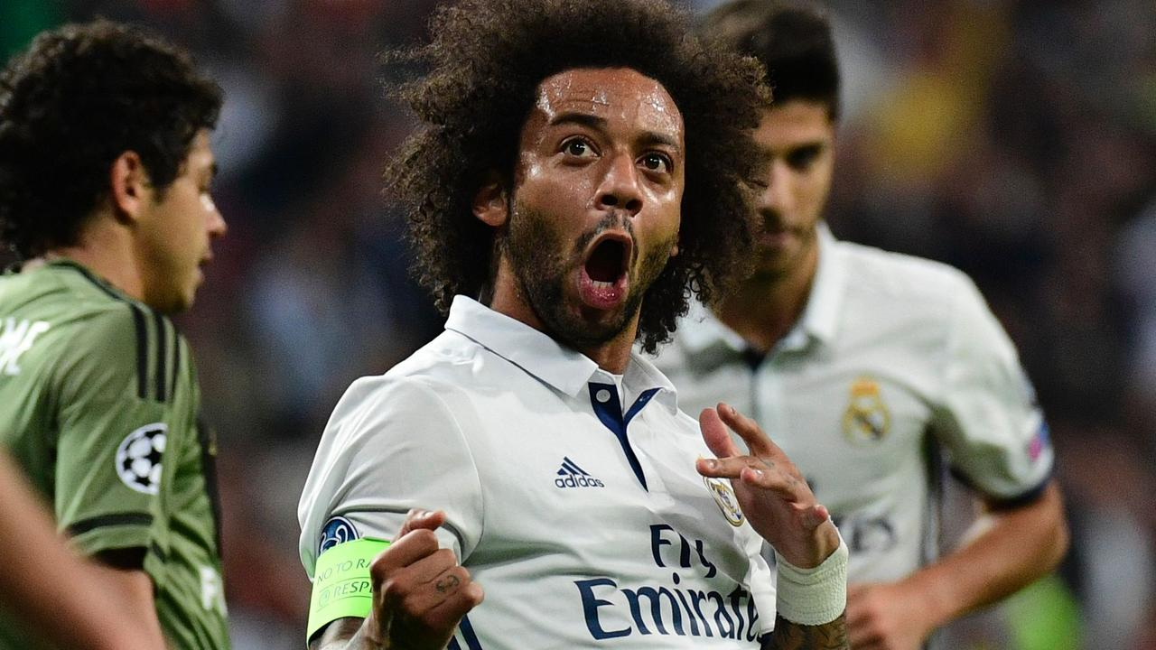 Samenvatting Real Madrid-Legia Warschau (5-1)