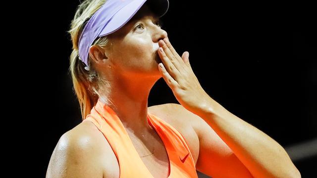 Sharapova zegt 'ver boven' kritiek van Bouchard te staan