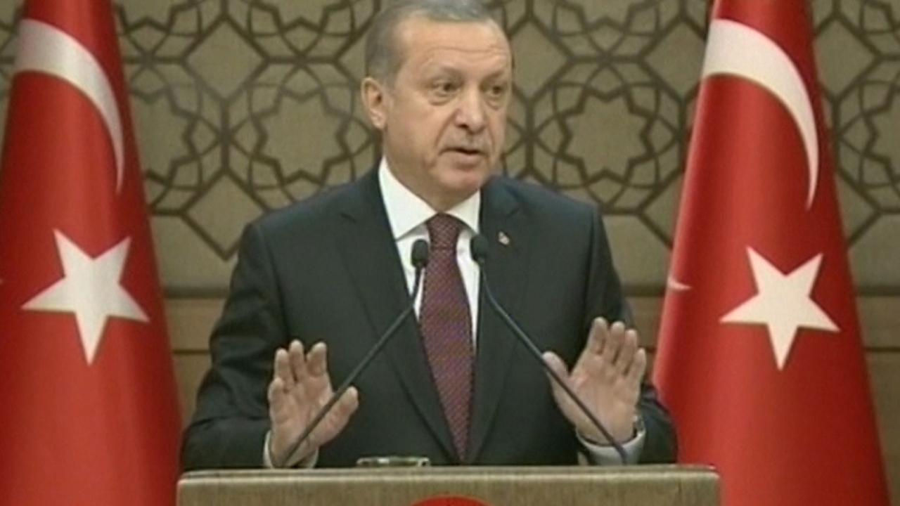 Erdogan wil eerst 'goede intenties' zien bij gesprekken met EU