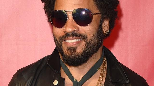 'Lenny Kravitz geeft optreden tijdens festival Stamping Ground'