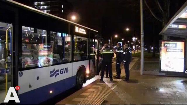 Overval op GVB bus in Zuidoost