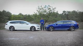 Eerste dubbeltest: Volkswagen Passat tegen de Opel Insignia