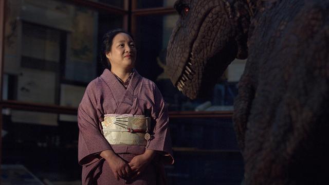 T.rex bezoekt Japanmuseum SieboldHuis