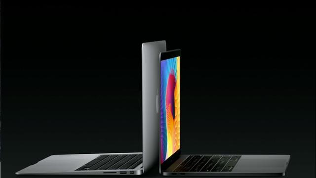 Nieuwe MacBook Pro heeft speciale 'Touch Bar'