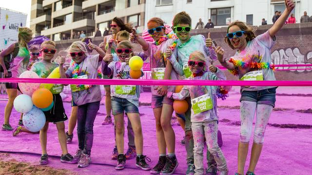 2000 kinderen lopen gratis mee op Colours by the Sea