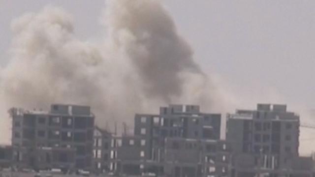 'Syrische troepen in fasen weg bij frontlijn Aleppo'