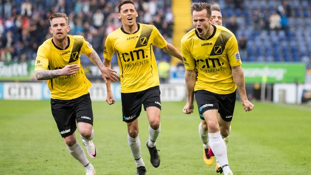 Oefenduel NAC-KV Mechelen in Sint Willebrord