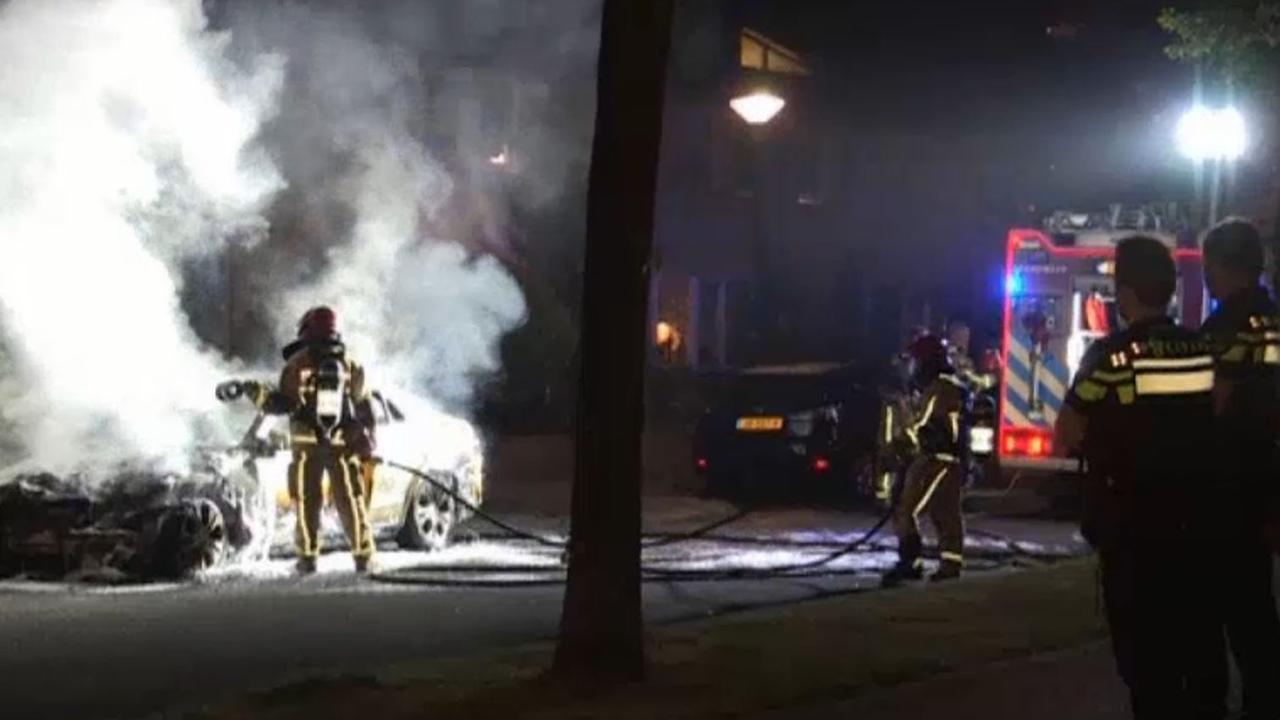 Brandweer blust taxibrand Zuidoost