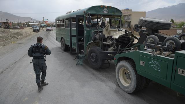 Tientallen doden bij aanslag op pas afgestudeerde agenten in Kabul