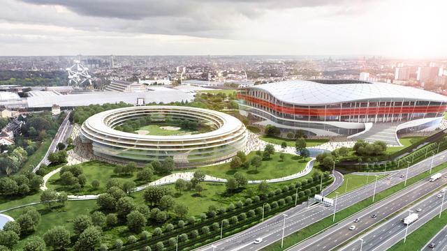 Nieuwe problemen bij bouw van EK-stadion in Brussel