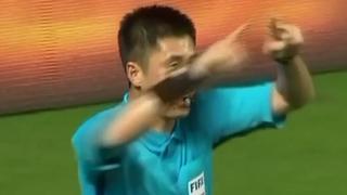 VAR draait eigen penaltybeslissing terug in China