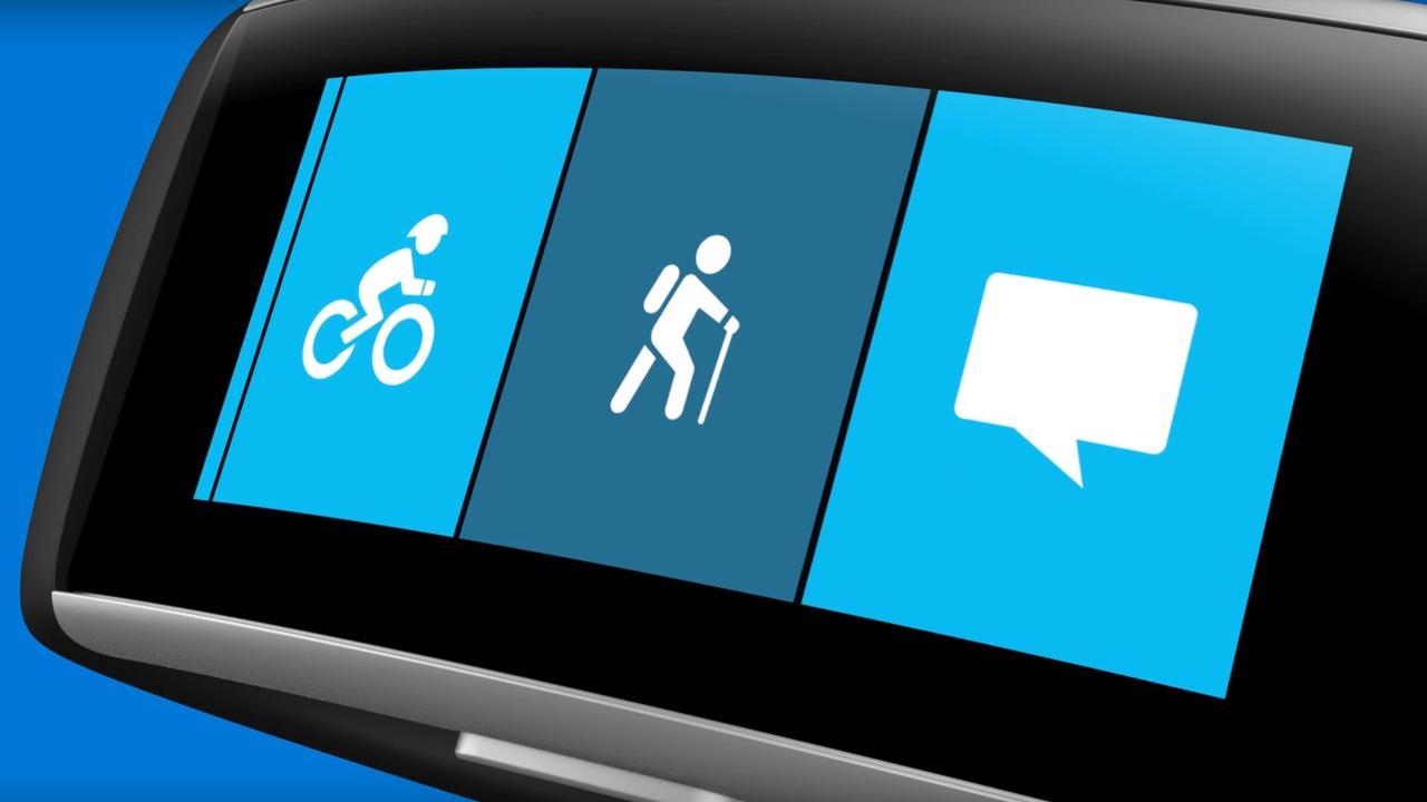 Microsoft lanceert wandel-app voor slimme polsband Band