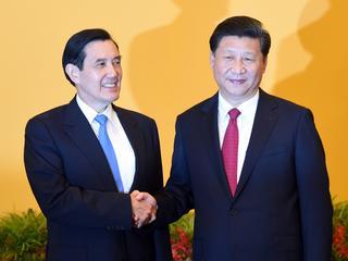 Voor het eerst sinds 1949 dat leiders van twee landen elkaar ontmoeten