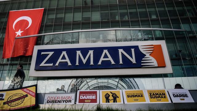 Turkije blokkeert websites buitenlandse edities krant Zaman