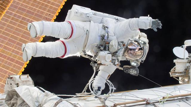 Onderhoud aan buitenkant ruimtestation ISS goed verlopen