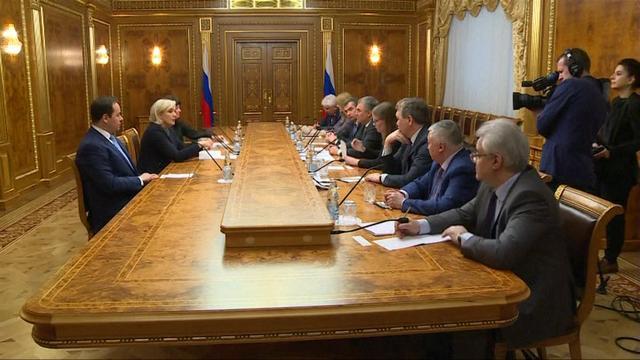 Ontmoeting Poetin en Le Pen tijdens Franse verkiezingen