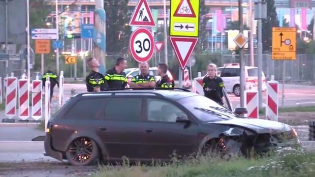 Auto van verdachten plofkraak Duitsland crasht in Utrecht