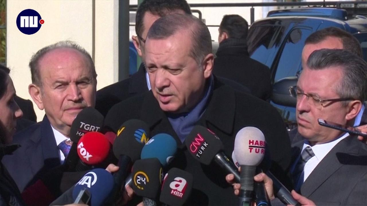 Erdogan: 'Turkse troepen zullen op Cyprus blijven'