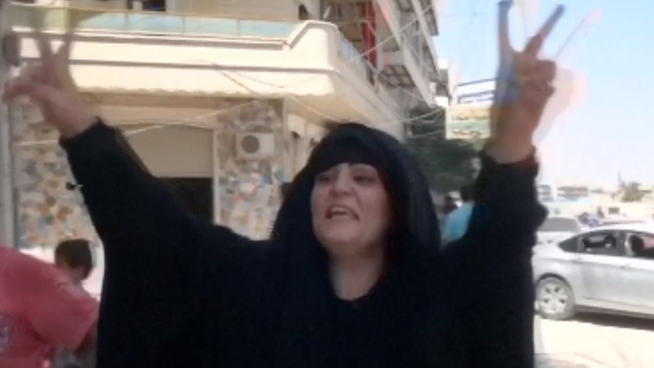 Opluchting bij inwoners Manbij na bevrijding van IS