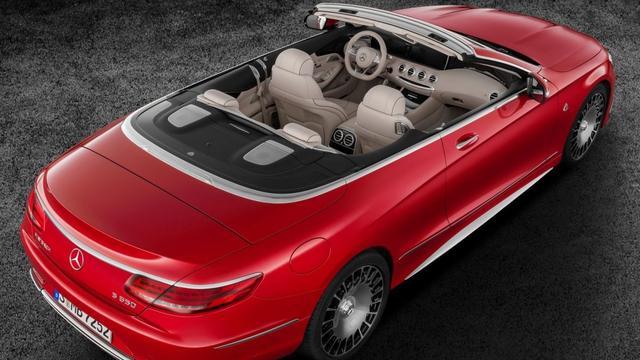 De ultieme weelde-cabrio: Mercedes-Maybach S650